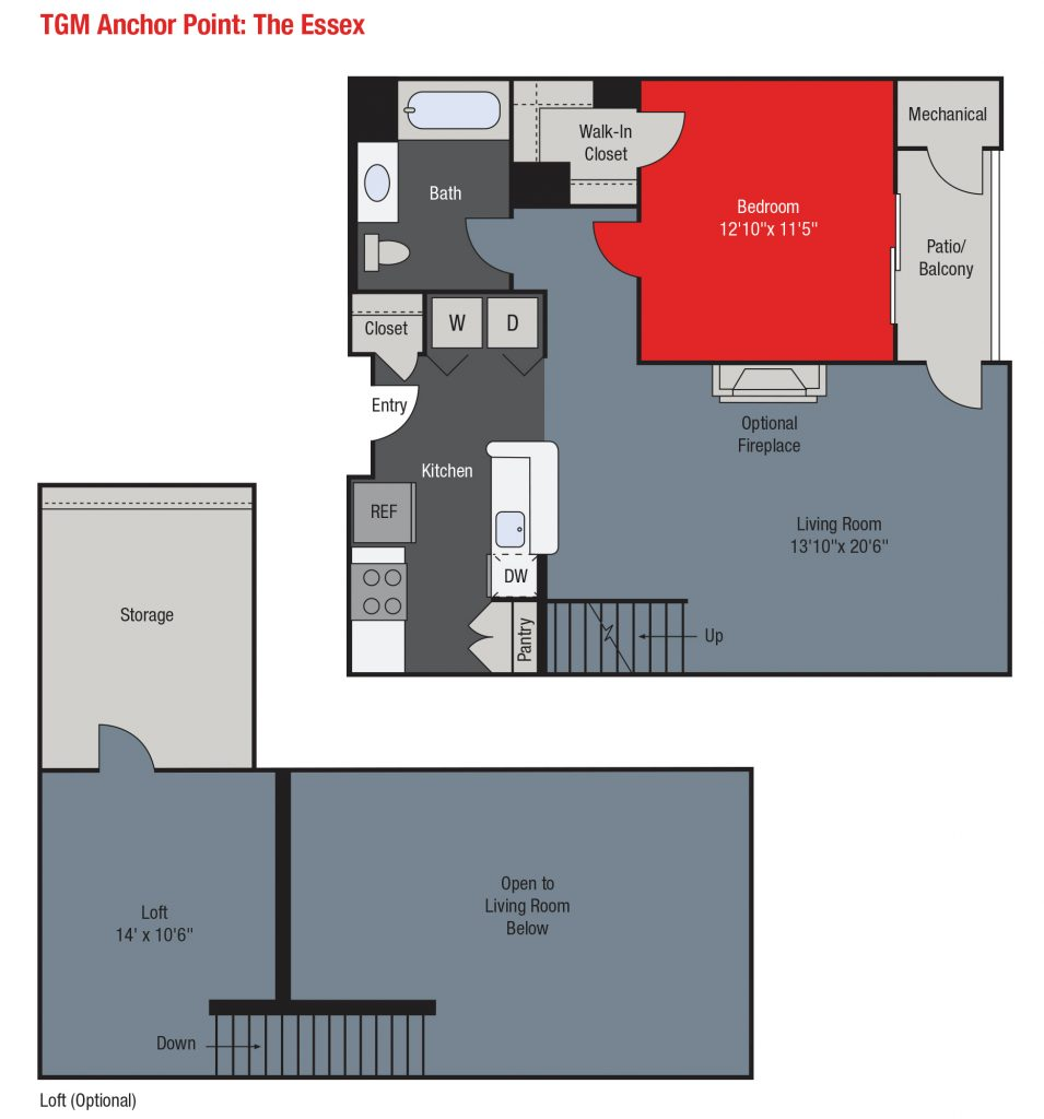 Apartments For Rent TGM Anchor Point - Essex