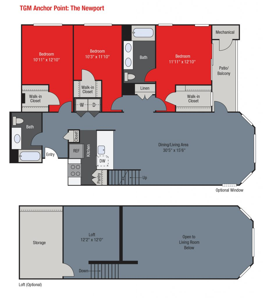 Apartments For Rent TGM Anchor Point - Newport