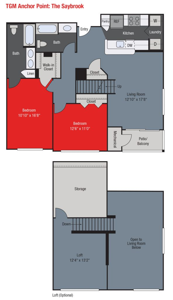 Apartments For Rent TGM Anchor Point - Saybrook