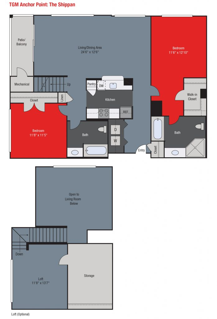 Apartments For Rent TGM Anchor Point - Shippan