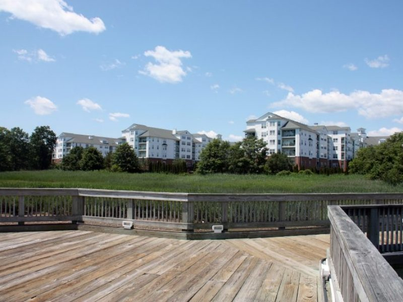 This image shows the walking paths of TGM Anchor Point Apartment that is convenient accessing an Island and sea breeze.