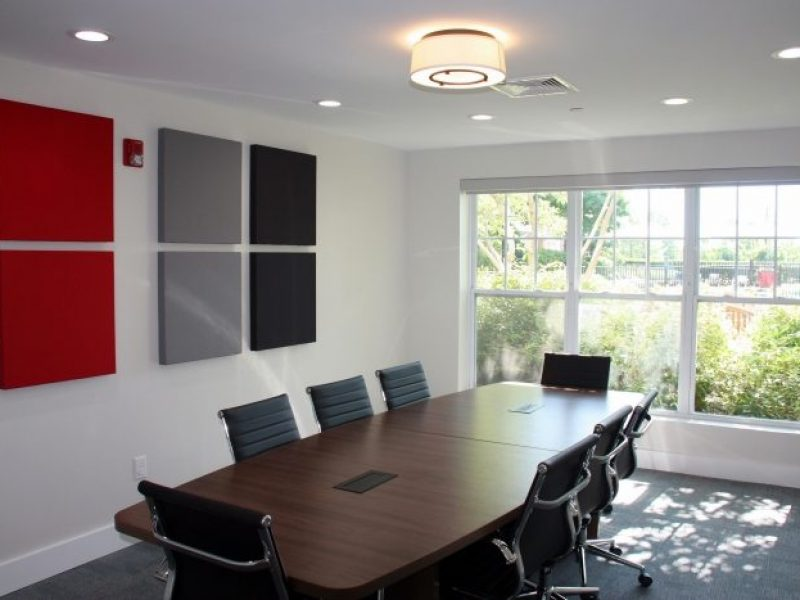 This image shows the Conference room of TGM Anchor Point that was good for both business and educational.