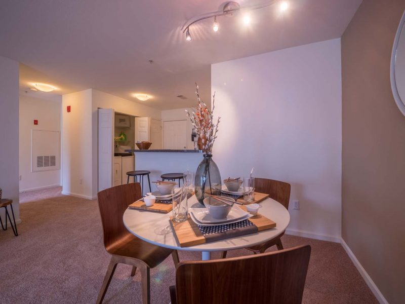 Dining Room TGM Anchor Point Apartments