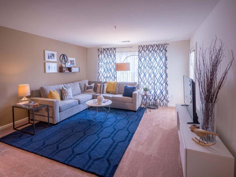 Living Room TGM Anchor Point Apartments