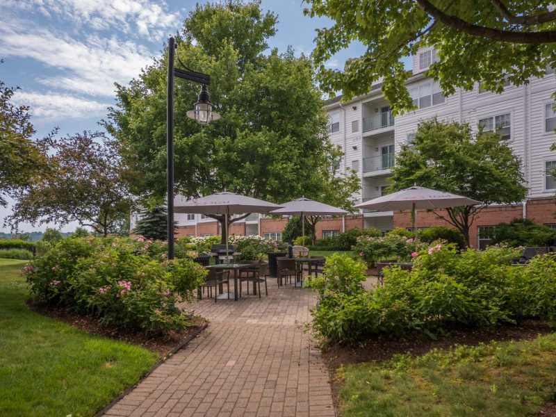 TGM Anchor Point Apartments Patios or Balcony front view