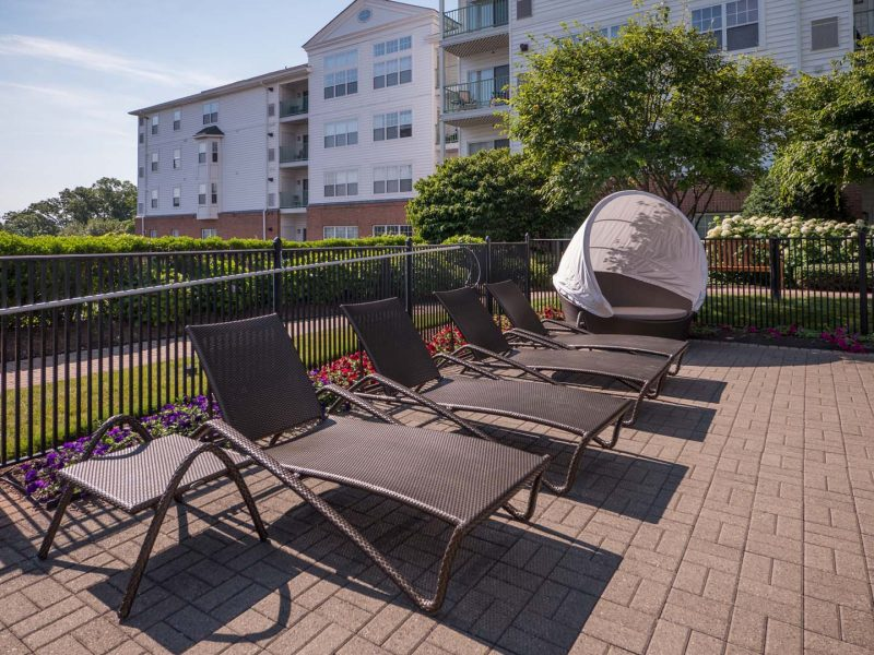 TGM Anchor Point Apartments Pool Beds