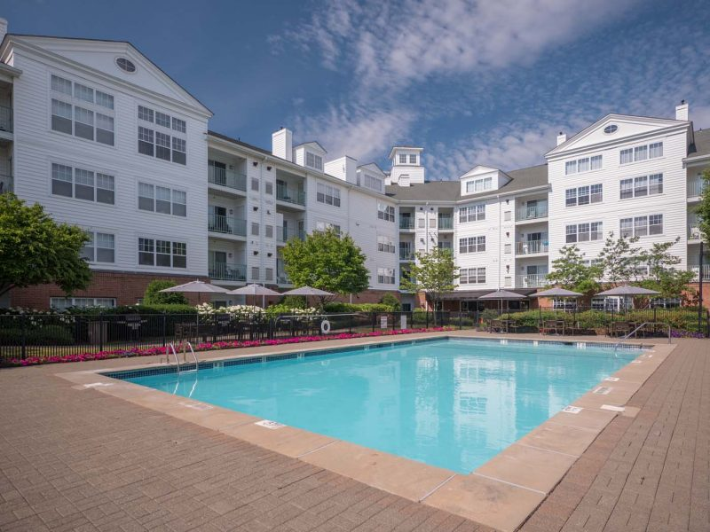 TGM Anchor Point Apartments Swimming Pool front view