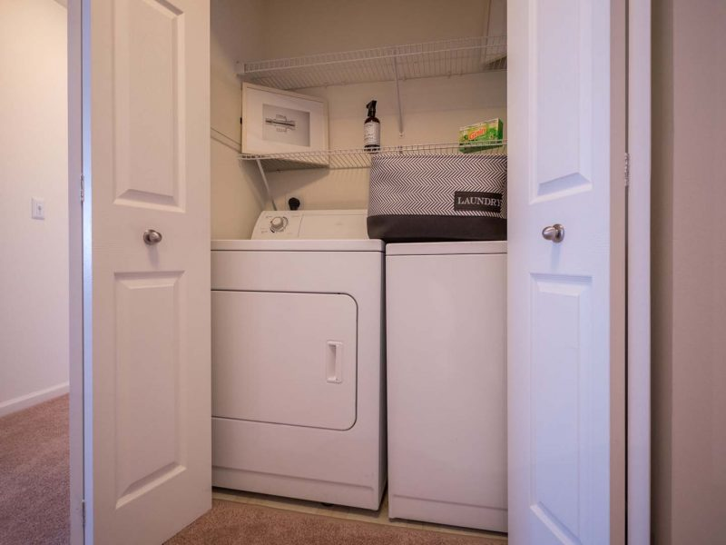 TGM Anchor Point Apartments Washer and Dryer Room